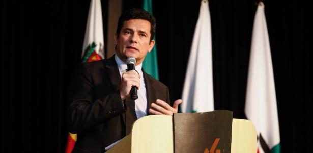 O juiz Sérgio Moro, que cuida das ações da Operação Lava Jato em 1ª instância