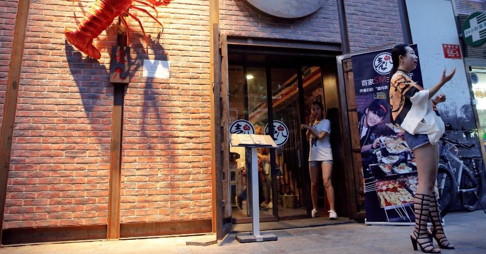 Restaurante sadomasoquista na China