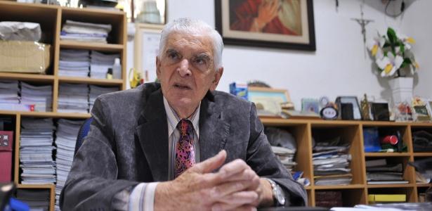 O vereador Wadih Mutran (PDT-SP), 80, mais antigo de São Paulo, vai tentar o 9º mandato