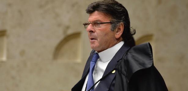 29.jun.2017 - Ministro do STF Luiz Fux