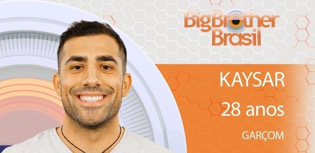 Kaysar nasceu na Síria, mas veio para o Brasil após fugir da guerra do país em 2011 - Globo/Divulgação