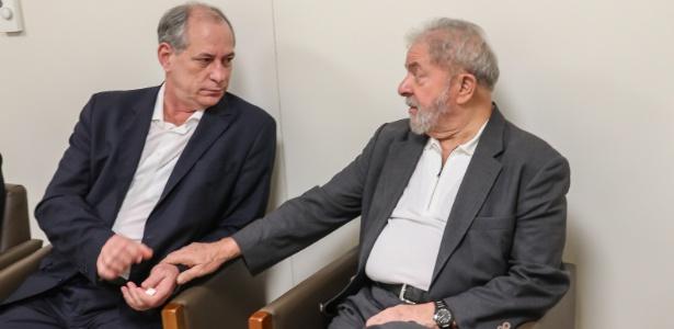 Lula recebe a visita de Ciro no hospital Sirio Libanês em fevereiro de 2017 - Ricardo Stuckert - 3.fev.2017/Divulgação/Instituto Lula