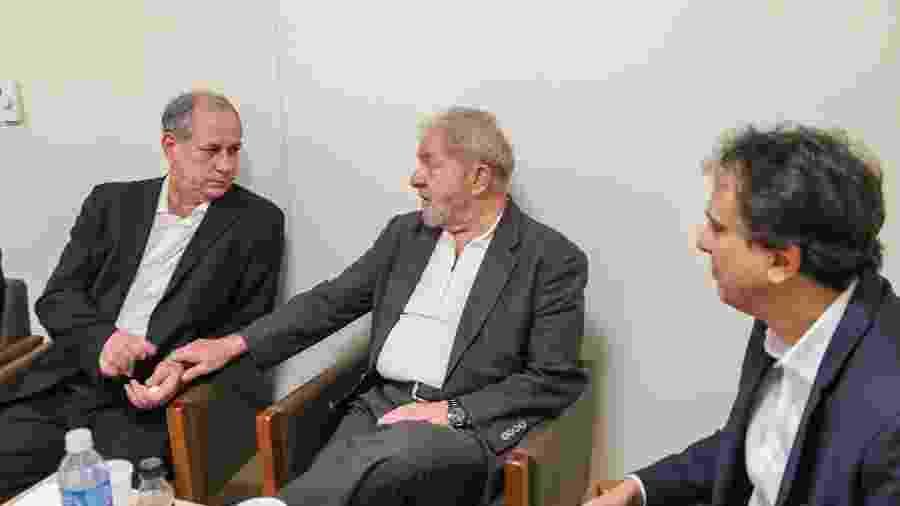 Na visão do ex-marqueteiro do PT, João Santana, Lula (PT) e Ciro Gomes (PDT) em uma mesma chapa seriam nomes de peso em eleições - Ricardo Stuckert/Instituto Lula