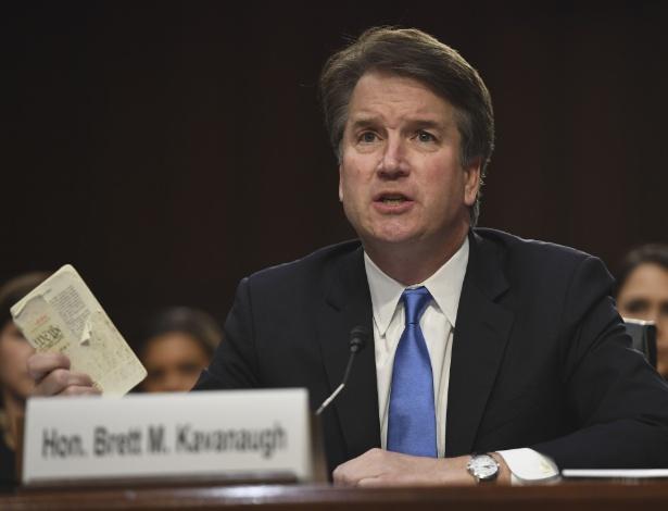 5.set.2018 - Brett Kavanaugh nega todas as acusações de assédio sexual - Saul Loeb/AFP