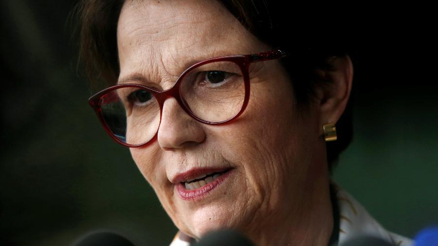 Deputada líder da bancada ruralista, Tereza Cristina será ministra da Agricultura no governo Bolsonaro - Adriano Machado/Reuters