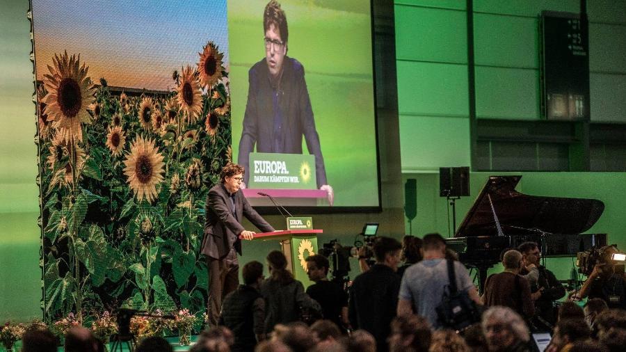 Convenção do Partido Verde alemão em Leipzig - Divulgação