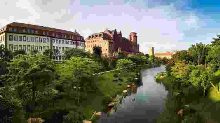 O campus vai reunir 12 cidades inspiradas na arquitetura europeia - Divulgação/Huawei