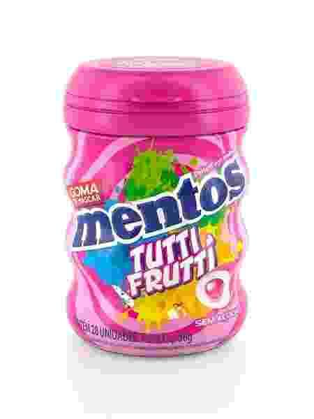 Divulgação  - mentos tutti frutti 1552673065558 v2 450x600 - Mentos obedece consumidor e lança goma de mascar só com sabor tutti frutti