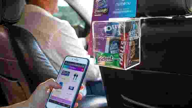 Numenu Store, serviço que vende lanches em apps de transporte - Instagram/@numenustore