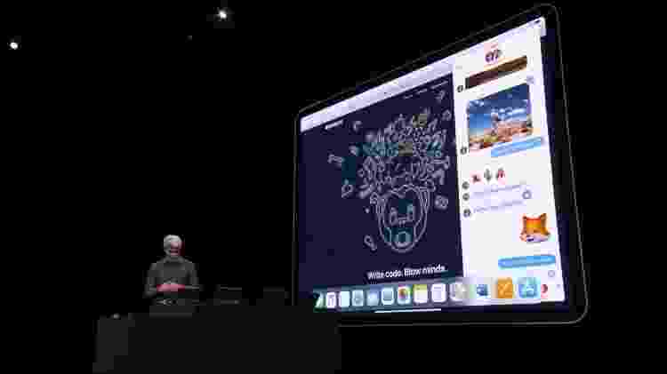 iPad OS - Reprodução/Apple