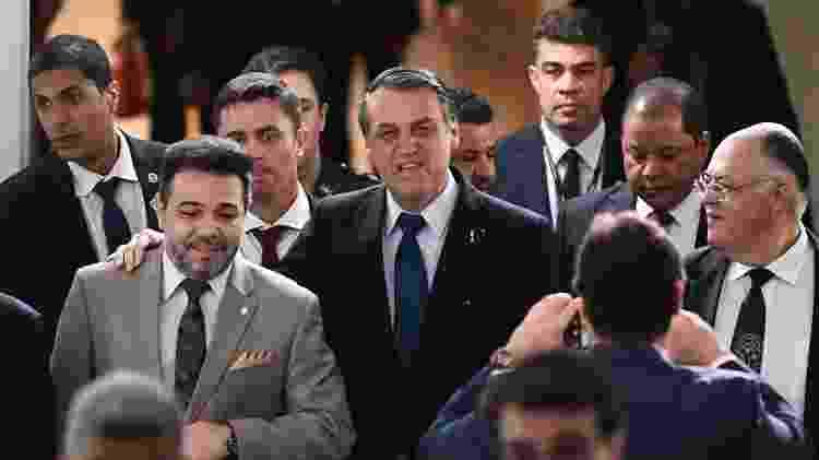 Marco Feliciano se tornou interlocutor de Bolsonaro junto aos evangélicos - Evaristo Sá/AFP
