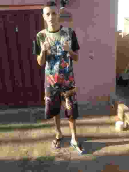 Victor Henrique Machado dos Santos foi morto no domingo (22) - Reprodução/Facebook