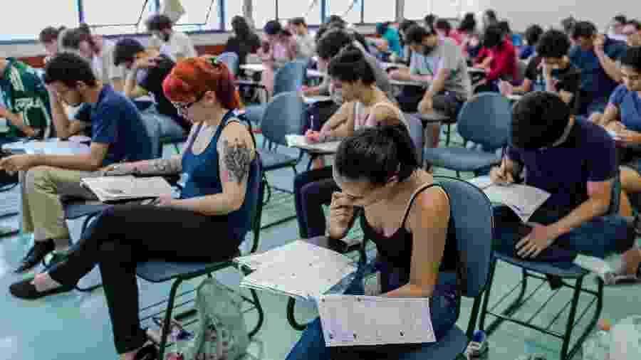 Quase 35 mil candidatos disputam 8.317 vagas para a Universidade de São Paulo (USP) - Eduardo Anizelli/Folhapress