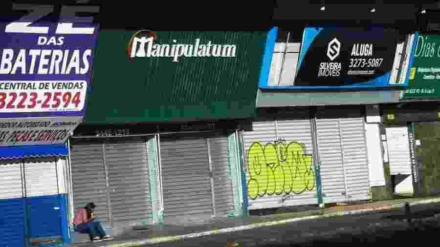 Comércio fechado é motivo de reclamação de grupo de prefeitos do interior de São Paulo - Marcelo Casal Jr/Agência Brasil