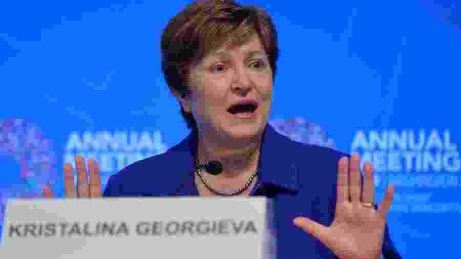 Kristalina Georgieva, diretora-gerente do FMI - MIKE THEILER