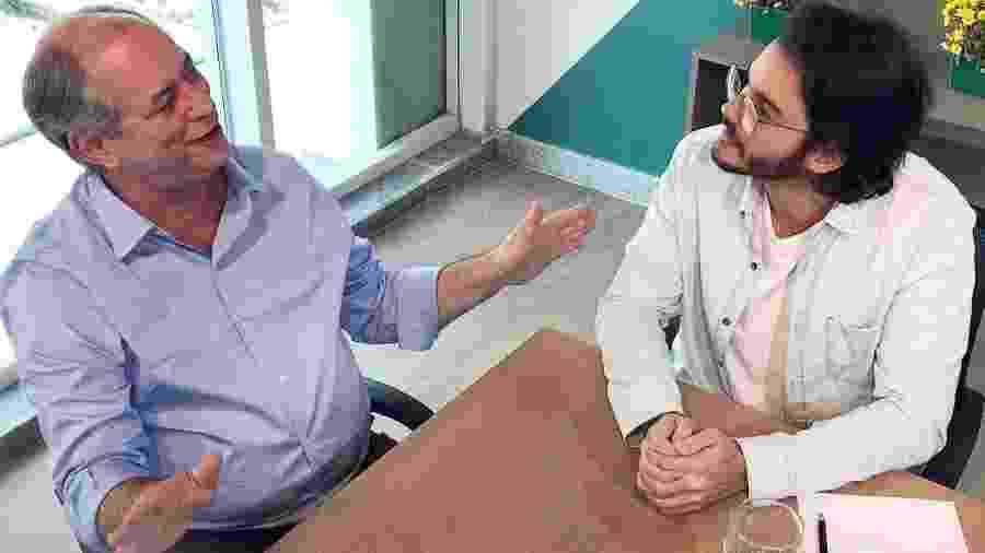 Túlio Gadelha com o então candidato Ciro Gomes, em 2018. O zap entre eles já não é o mesmo - Reprodução/Instagram