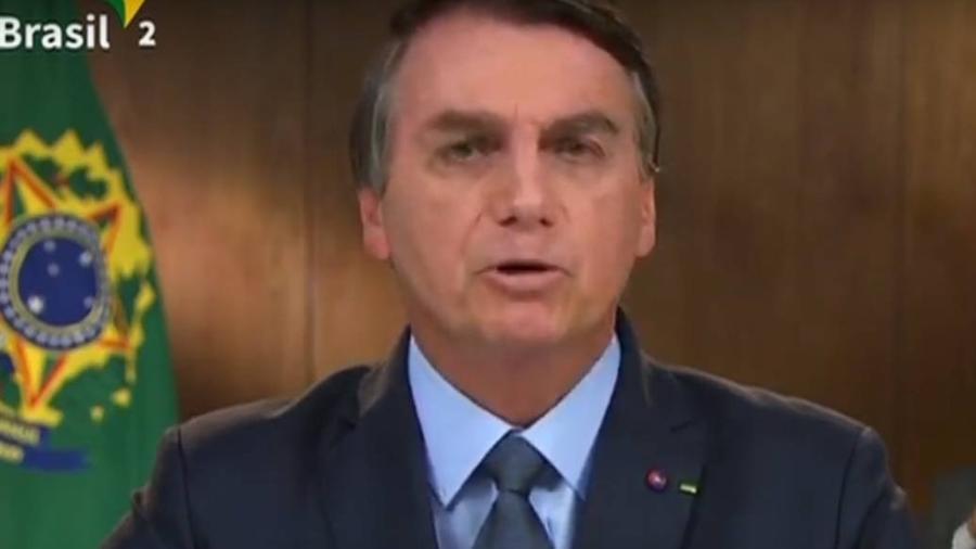 Jair Bolsonaro discursa na Assembleia Geral da ONU - Reprodução/TV Brasil