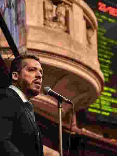 23.set.2020 - O deputado Rodrigo Amorim (PSL), ex-aliado de Witzel - Julia Passos/ Alerj
