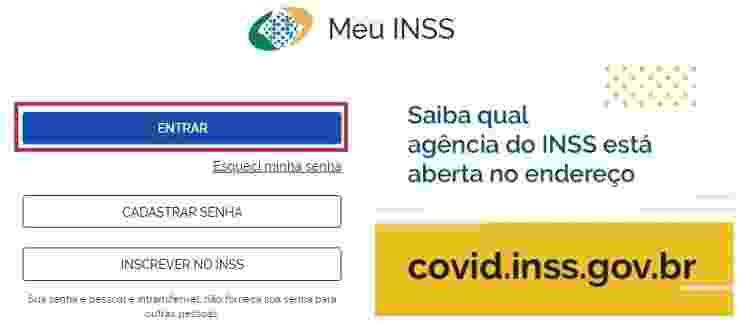 Meu INSS 1 - Reprodução/Meu INSS - Reprodução/Meu INSS