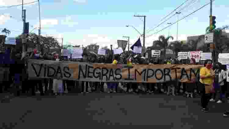 Manifestação em Porto Alegre - Hygino Vasconcellos/Colaboração para o UOL - Hygino Vasconcellos/Colaboração para o UOL