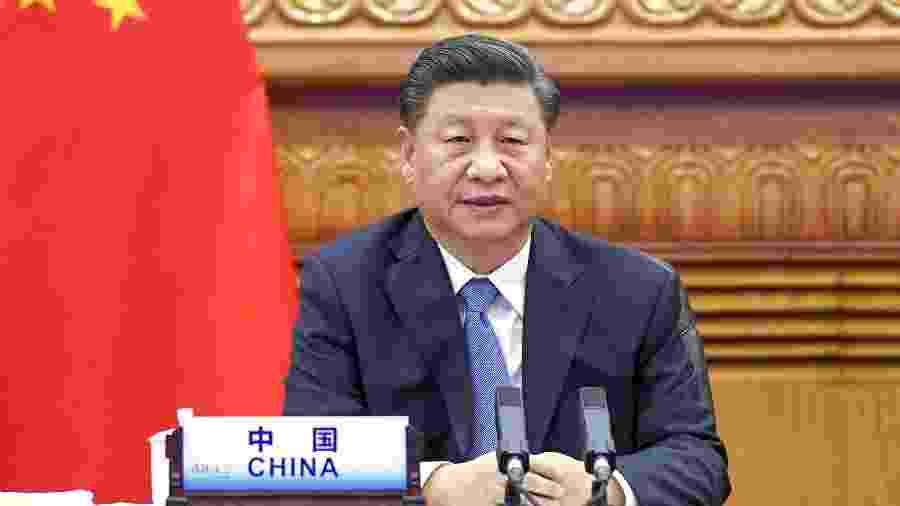 O presidente chinês, Xi Jinping, reconhece a vitória do democrata Joe Biden na eleição norte-americana - Li Xueren/Xinhua