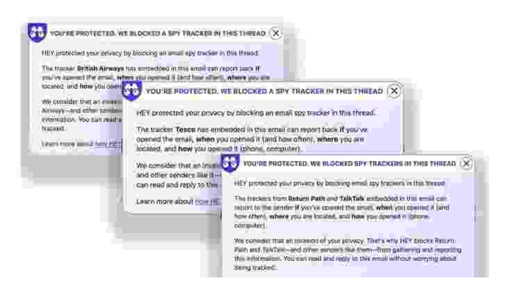 O serviço de emails Hey alerta seus usuários quando detecta o uso desses pixels - Hey - Hey