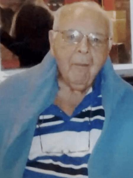 Sérgio, 77, foi encontrado morto com um tiro no peito, um na mandíbula e outro no ouvido - Reprodução/Rede Globo