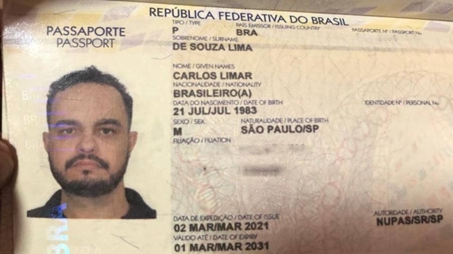 Brasileiro Carlos Limar foi encontrado morto em Pedro Juan Caballero, no Paraguai - Reprodução/ Polícia Nacional do Paraguai