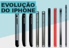 Veja a evolução dos iPhones - Arte UOL