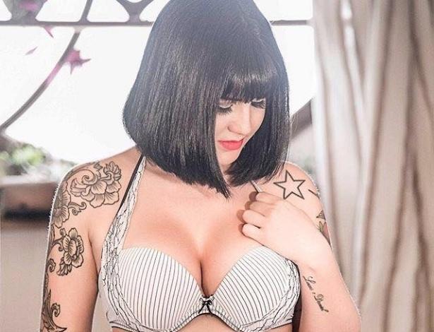 Foto estilo boudoir do portfólio do estúdio Naked, de São Paulo