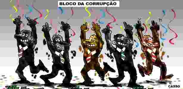 corrupção bloco - Casso/UOL - Casso/UOL