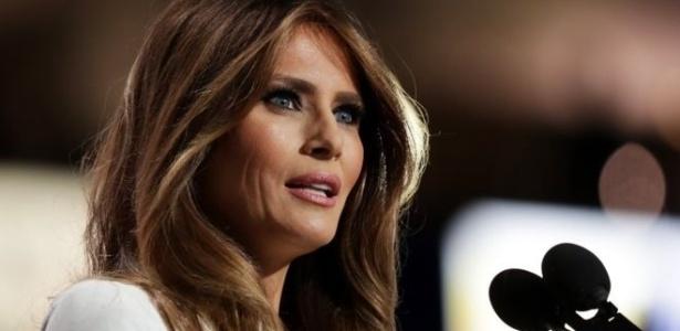 Melania Trump procurou moderar a imagem de 'durão' de Donald Trump