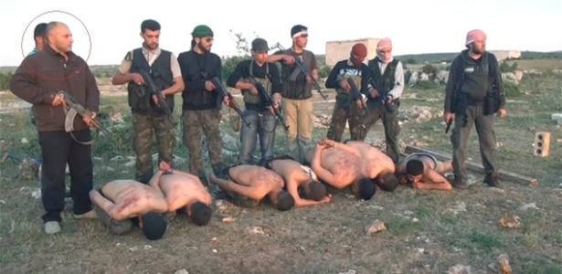 Haisam Omar Sajanh disse que recebeu ordens para executar os soldados