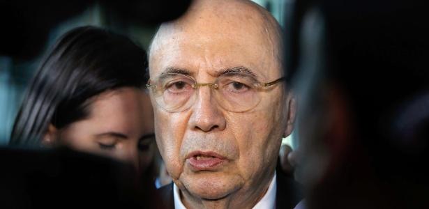 O ministro da Fazenda, Henrique Meirelles - Sergio Lima / AFP