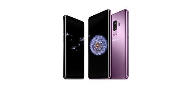 Os novos Galaxy S9 e S9+ foram apresentados na MWC 2018. - Divulgação/Samsung