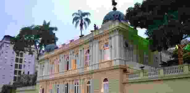 Antiga mansão do Barão de Guaraciaba, chamada de Palácio Amarelo, hoje é sede da Câmara Municipal de Petrópolis, no Rio de Janeiro - Assessoria da Câmara de Petrópolis