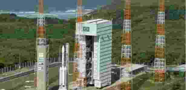 Centro de Lançamento de Alcântara, no litoral do Maranhão - Agência Espacial Brasileira via BBC