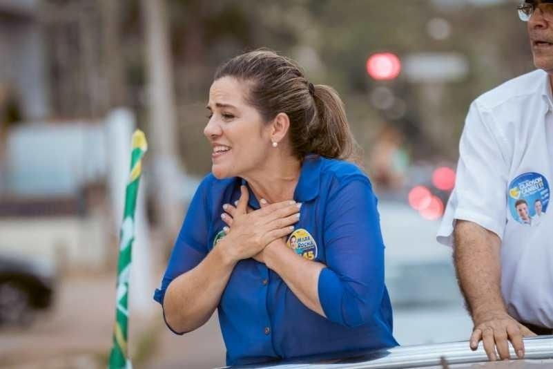 7.out.2018 - Mara Rocha (PSDB) foi a deputada federal mais votada no Acre, com mais de 40 mil votos