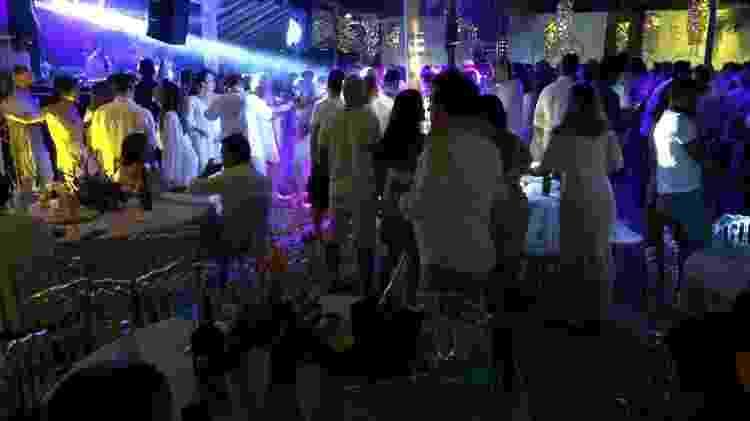 Festa de final de ano do Oliver, ponto badalado de Brasília - Paulo Sampaio/UOL - Paulo Sampaio/UOL