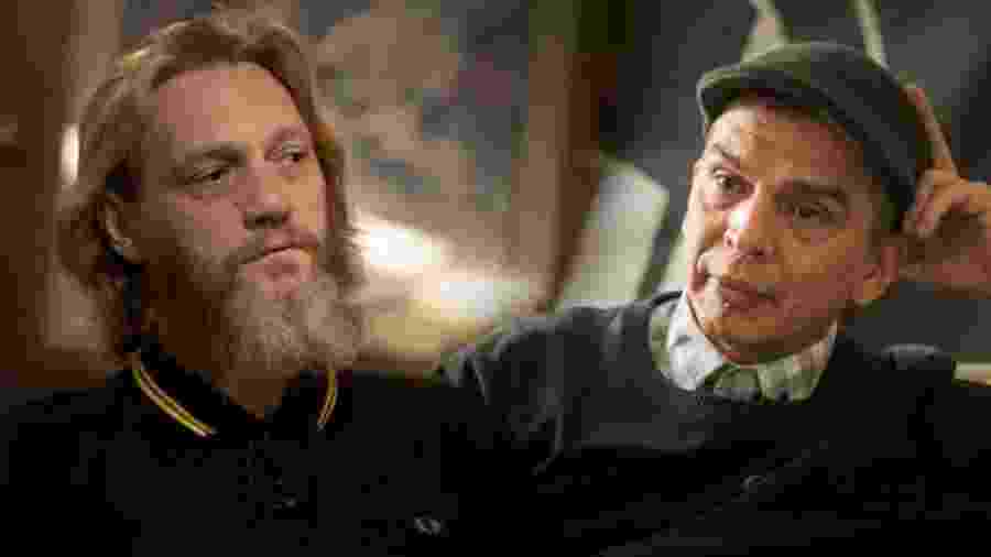 Rob Cantrall e Luis Enrique Marquez concordaram em estar frente a frente  - Image Caption