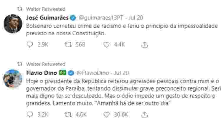 Tweet de Walter Delgatti Neto - Reprodução/Twitter - Reprodução/Twitter