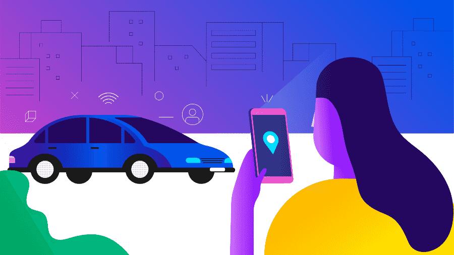 Em viagens longas, alugar carro é recomendado; apps valem a pena em trajetos curtos - Estúdio Rebimboca/UOL