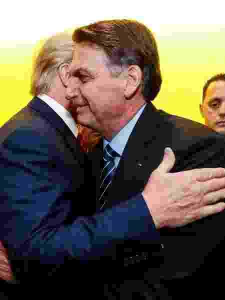 Trump pediu a Bolsonaro apoio a cassinos - Alan Santos/PR