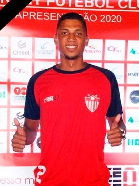 Tiago Cortes era atleta do Guarany do Bagé; segundo presidente do clube, família não realizará velório - @guaranyrs/Twitter