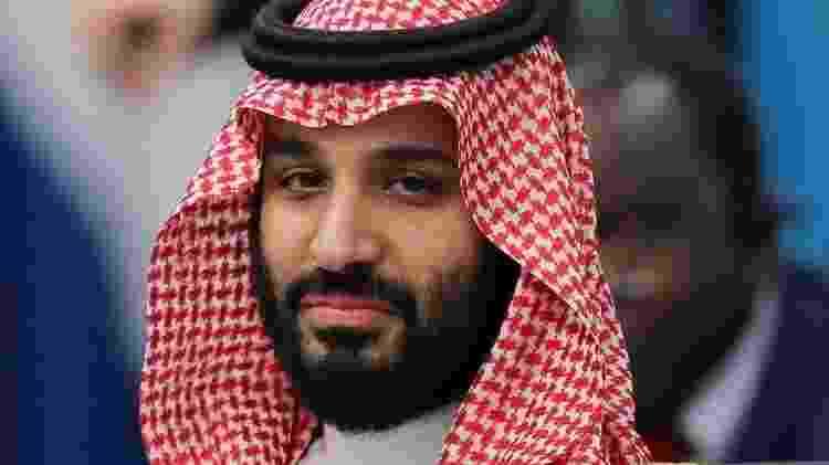 Os críticos de Trump recriminaram o presidente por sua falta de firmeza diante de Mohamed Bin Salman após a morte do jornalista Kashoggi - Reuters - Reuters