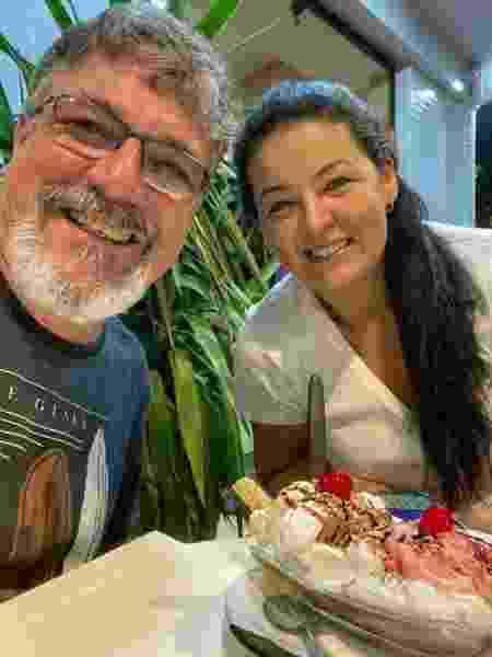 Alexandre e Camila Duarte Andreazzi, moradores de Santos - Arquivo pessoal - Arquivo pessoal