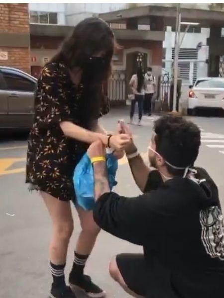 Pedro disse que só pensava em rever a namorada enquanto estava internado - Reprodução/Instagram