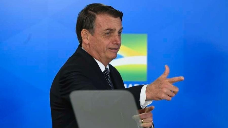 Presidente Jair Bolsonaro assinou decreto que altera a programação orçamentária e financeira do ano corrente  - Mateus Bonomi/AGIF/Estadão Conteúdo