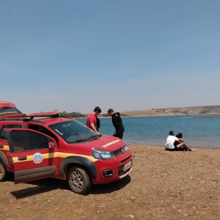 Quatro pessoas foram vítimas de afogamento apenas neste final de semana no noroeste de Minas Gerais - Reprodução/CBM Paracatu