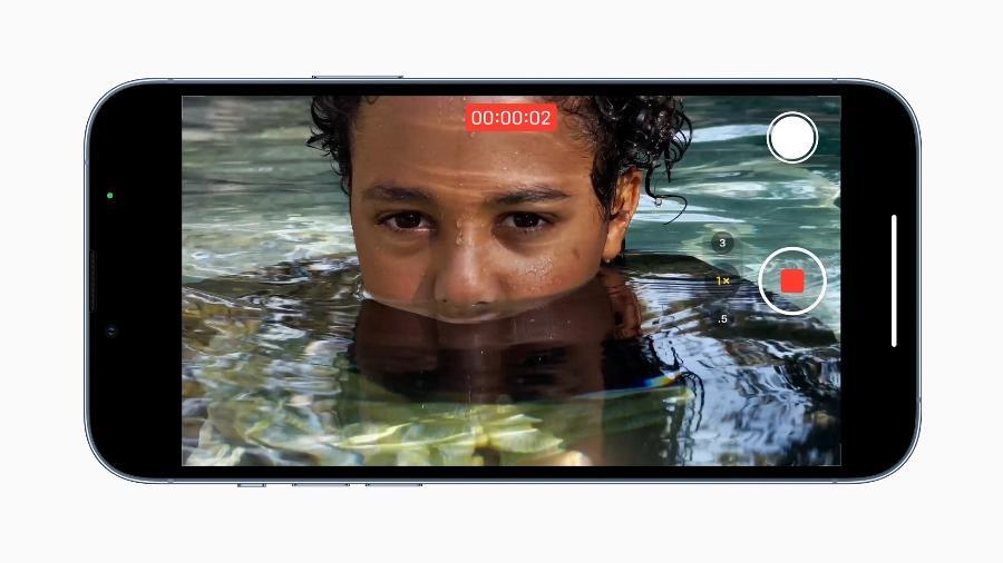 Material de divulgação da Apple mostra qualidade de imagem de vídeo no iPhone 13 Pro - Divulgação/ Apple